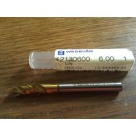 ".2362"" 6mm HSCO TiN COATED SCREW MACHINE LENGTH DRILL"
