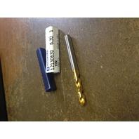 """.2480"""" 6.3mm HSCO TiN STUB DRILL"""