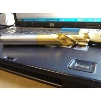 ".6299"" 16mm COBALT TiN COATED SCREW MACHINE LENGTH DRILL"