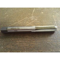 M8 X 0.75 4 FLUTE HIGH SPEED STEEL BOTTOM TAP