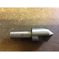 "7/8"" 100 DEGREE HIGH SPEED STEEL 3 FLUTE COUNTERSINK"