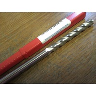 ".375"" 3/8"" 4 FLUTE EXTRA LONG LENGTH CARBIDE END MILL 3/8"" x 3/8"" x 3"" x 6"""