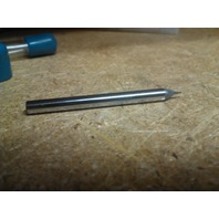 ".0220"" 2fl SINGLE END CARBIDE END MILL.0220"" x 1/8"" .0330"" x 1-1/2"""
