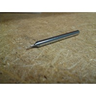 ".0270"" 2fl SINGLE END CARBIDE END MILL.0270"" x 1/8"" .0405"" x 1-1/2"""