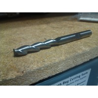 "1/4"" 2 FLUTE SINGLE END LONG LENGTH CARBIDE END MILL 1/4"" x 1/4"" x 1-1/4"" x 3"""