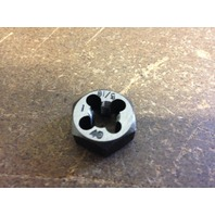 "5/16""-40 CARBON STEEL HEXAGONAL RE-THREADING DIE"