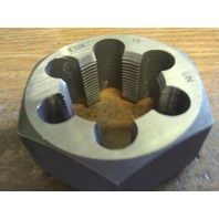 "1 1/4""-18 CARBON STEEL HEXAGONAL RE-THREADING DIE"