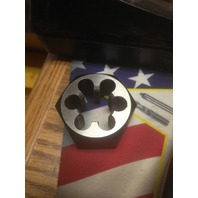 "4""-8 CARBON STEEL HEXAGONAL RE-THREADING DIE"