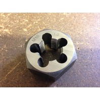 M16 X 1.0 CARBON STEEL HEXAGONAL RE-THREADING DIE