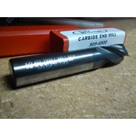 "1/2"" 4 FL 90 DEG PT ANGLE TIALN CTD CARBIDE DRILL MILL"