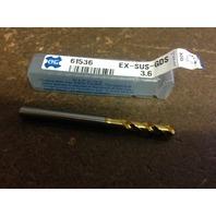 """.1417"""" 3.6mm EX-SUS-GOLD DRILL"""