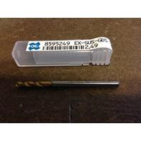 ".0980"" #40 HSCO TiN STUB DRILL 2.49mm EX-SUS-GDS"