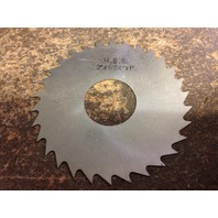 ".0156"" 1/64"" X 3"" X 1"" ARBOR HOLE HIGH SPEED STEEL PLAIN METAL SLITTING SAW"