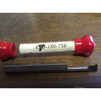 "New 1/4"" Solid Carbide 60 DegreeThreading Bar AT-180-750"