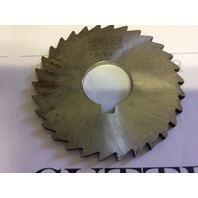 ".1406"" 9/64"" X 3"" X 1"" ARBOR HOLE HIGH SPEED STEEL PLAIN METAL SLITTING SAW"