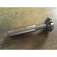 """1"""" 90 DEGREE INCLUDED ANGLE HIGH SPEED STEEL DOUBLE ANGLE CUTTER"""