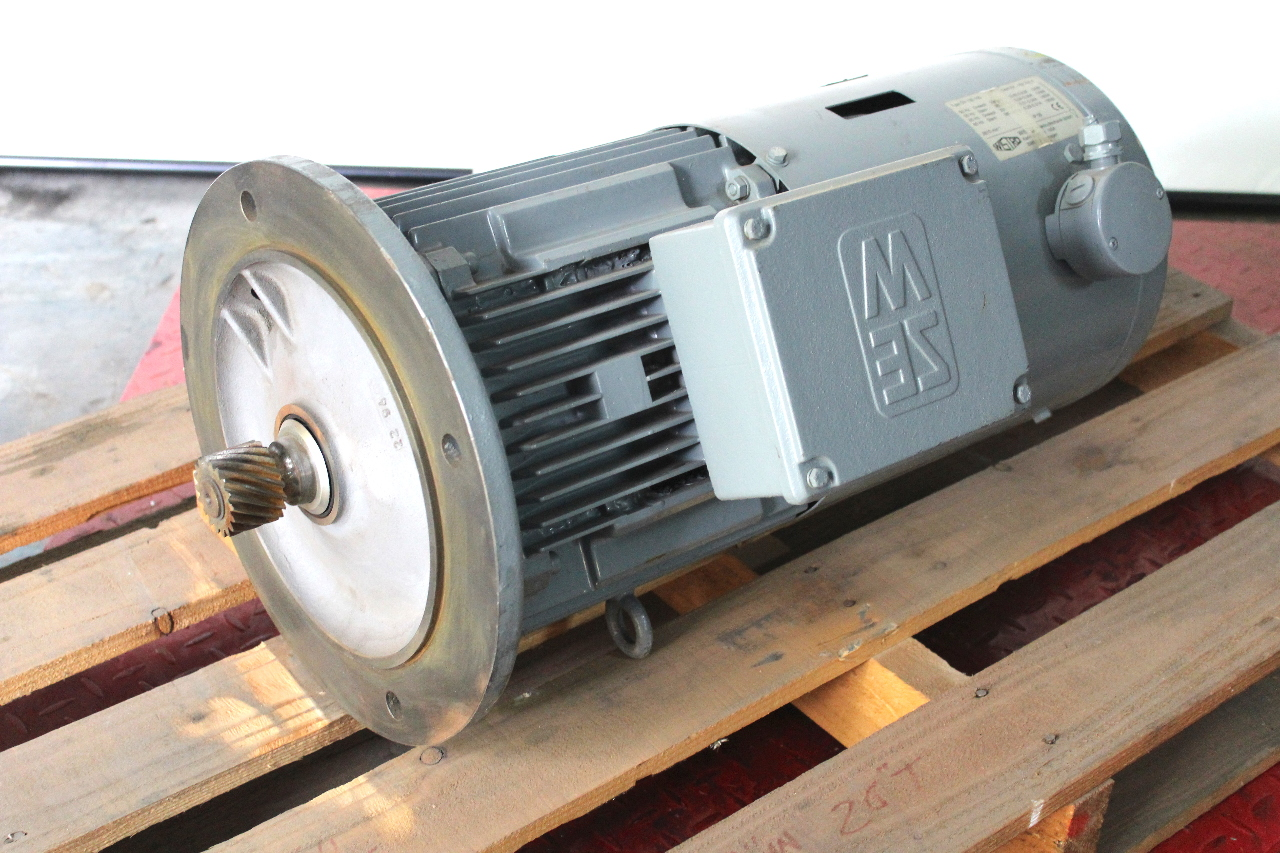 Sew Eurodrive Dfv132m4bm15hrz Brake Motor 230 460vac 3