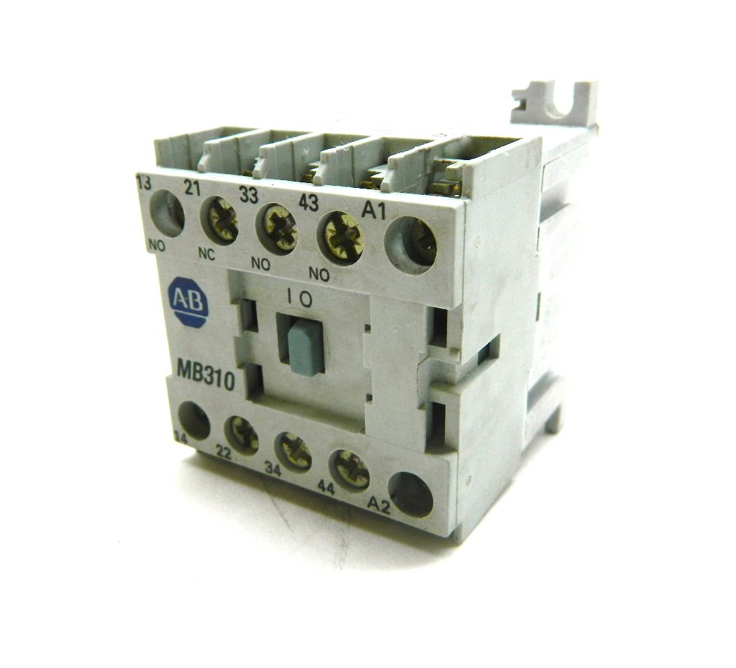 Allen Bradley DCMB Miniature Relay Vdc Coil  NO  NC - Relay com no nc