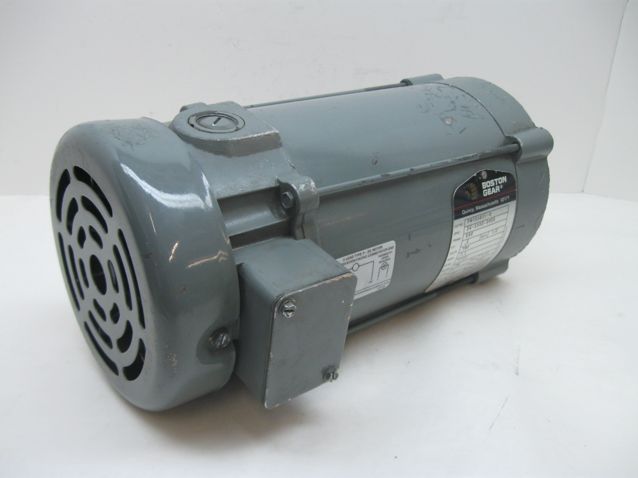Boston Gear Pm1850tf B Dc Motor