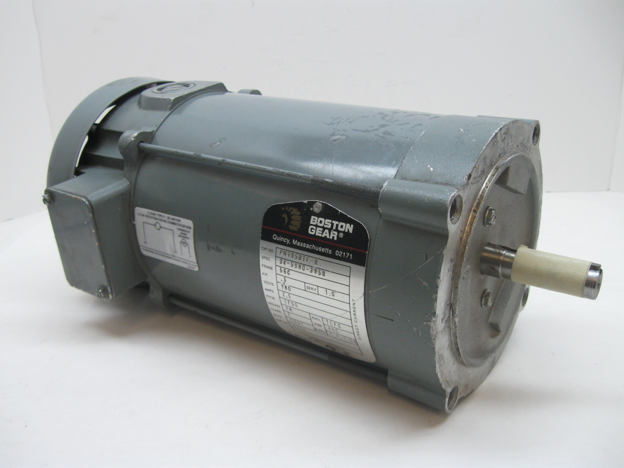 Boston Gear Pm1850tf B Dc Motor Ebay