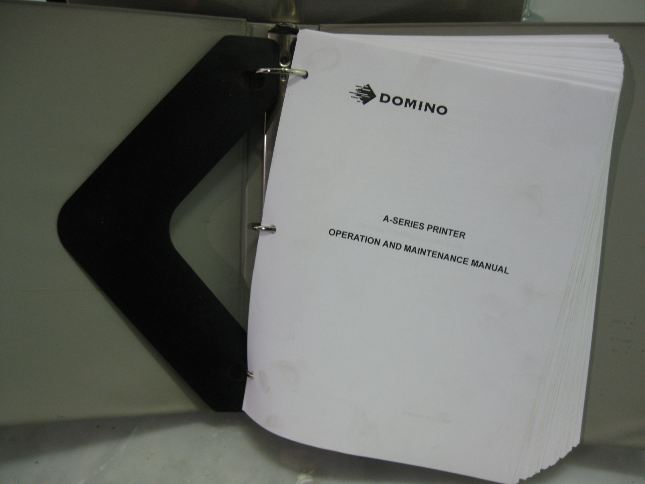 domino a300 inkjet printer manual