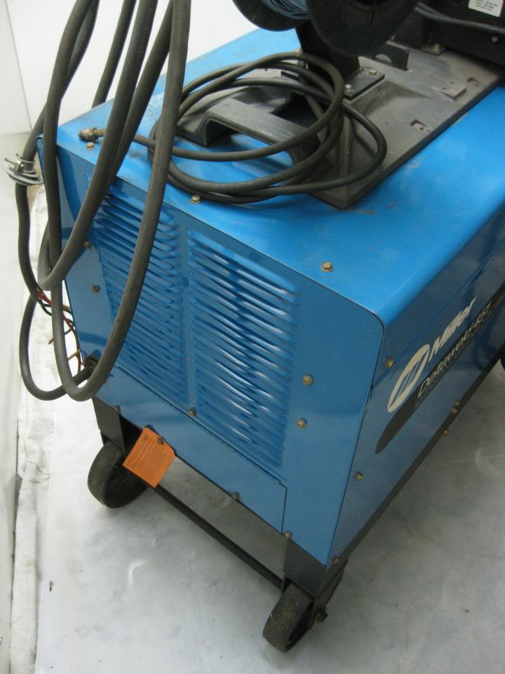 miller deltaweld 451 mig welder w d 54d dual wire feeder