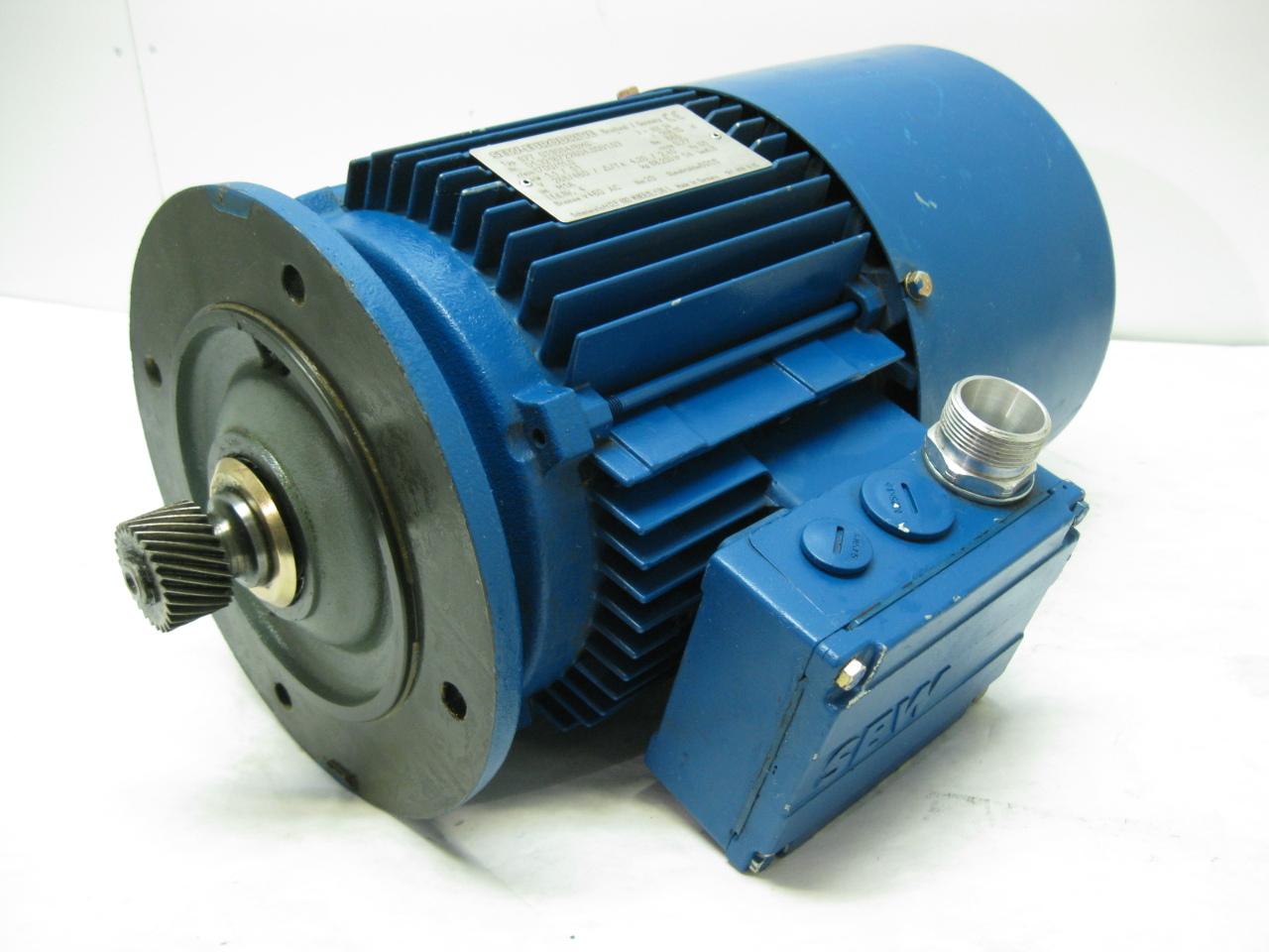 Sew eurodrive s77 dt80k4 motor 1 5 hp 1700 rpm 266 460v ebay for Sew motors and drives