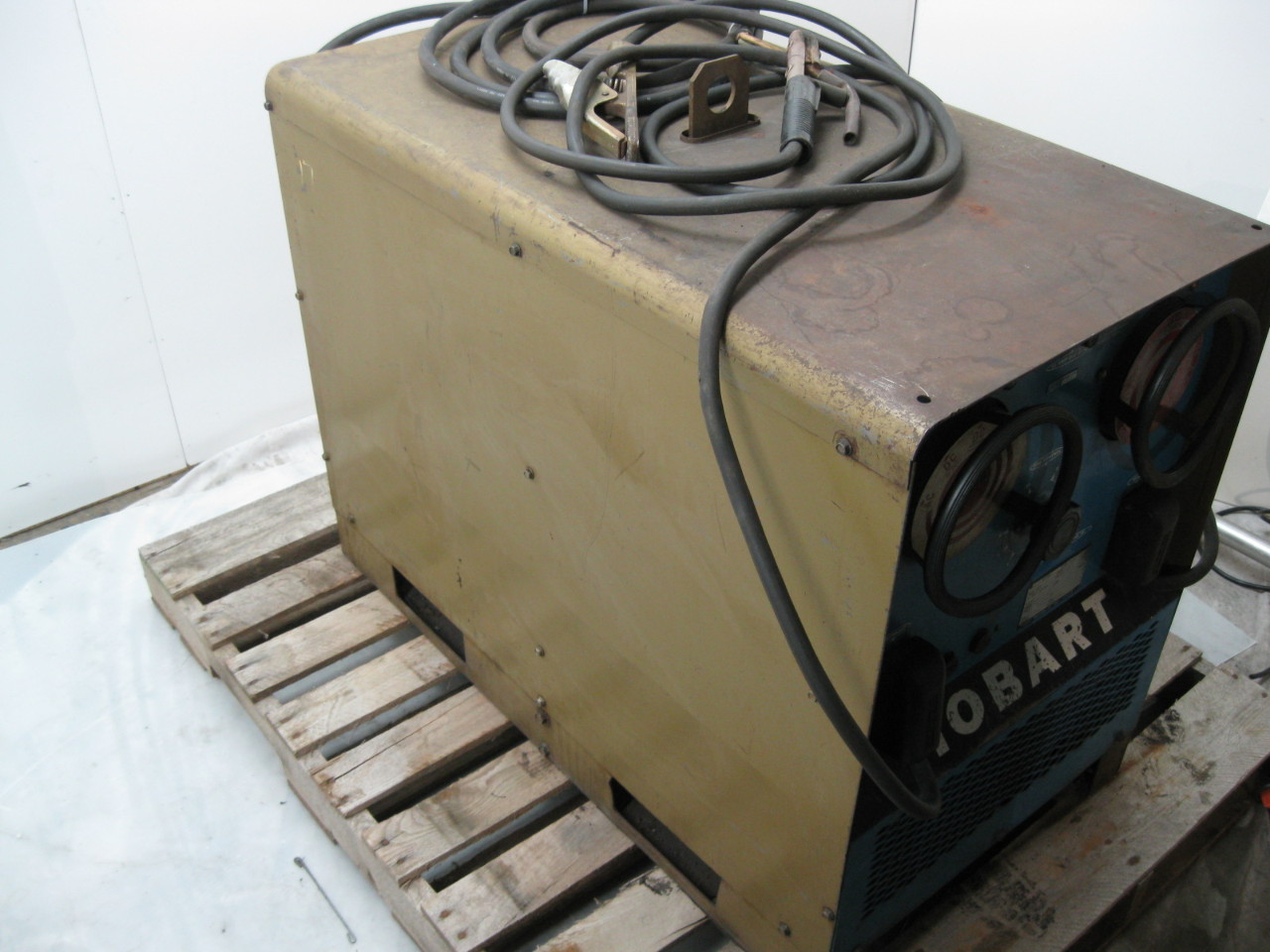 hobart tr-300 ac/dc welder 300 amp with stinger & ground ... 110 mig welder wiring diagram tr 300 welder wiring diagram