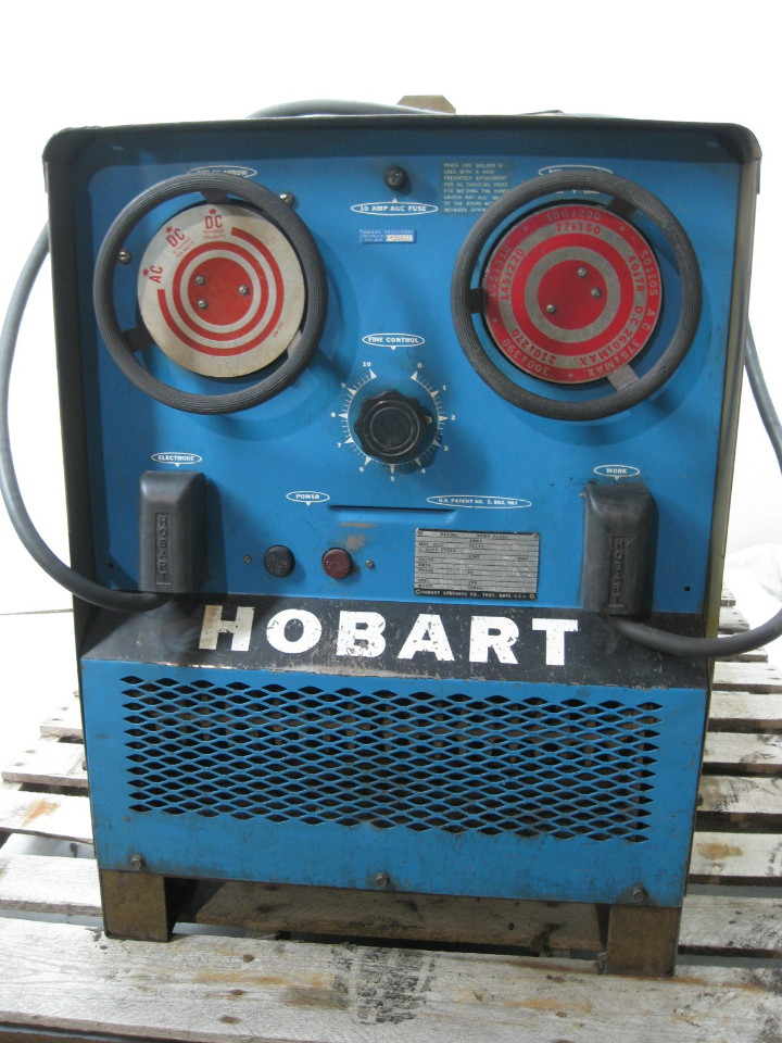 hobart tr-300 ac/dc welder 300 amp with stinger & ground ... tr 300 welder wiring diagram hobart welder wiring diagram