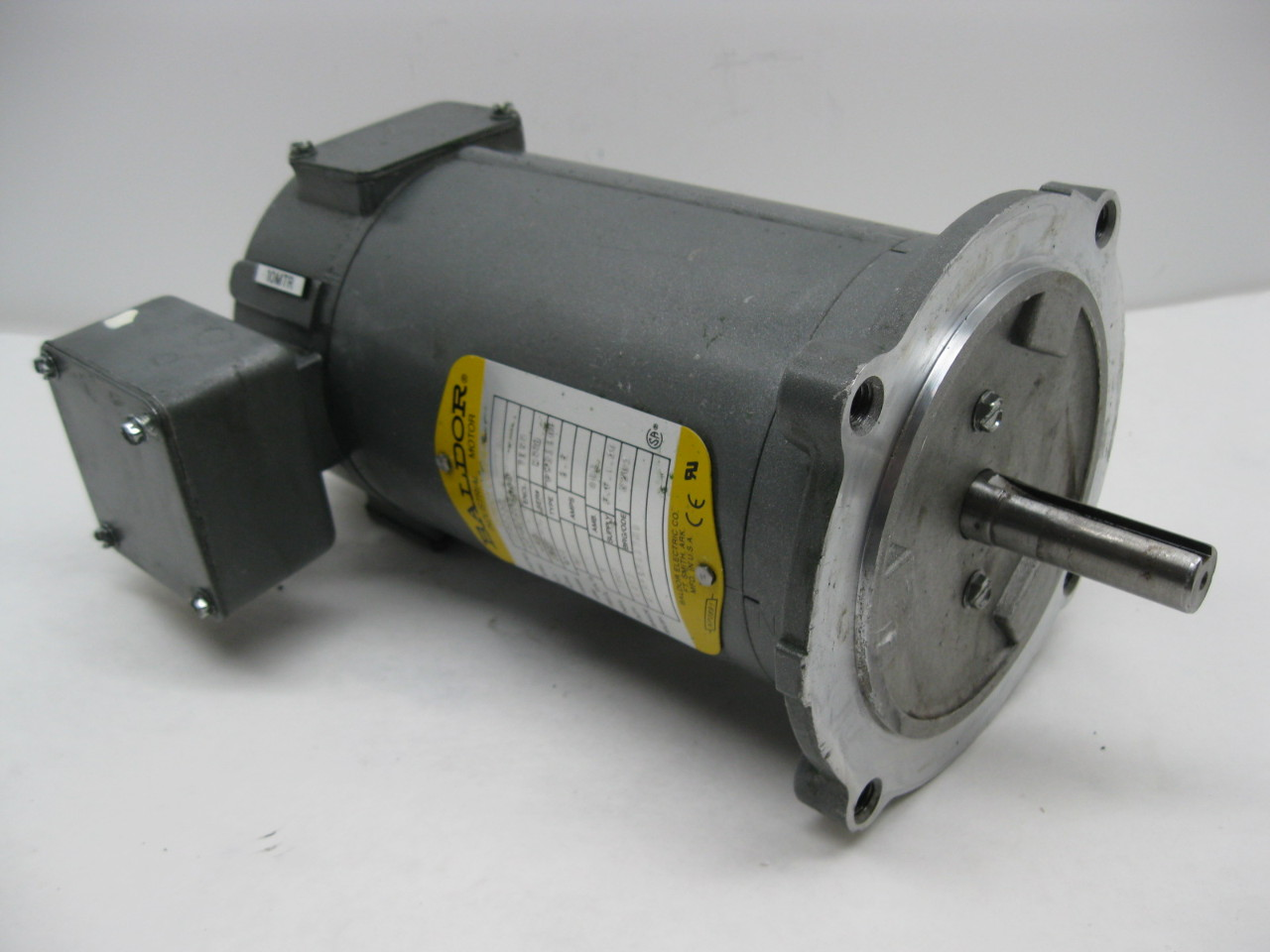 Baldor cdp3310 90v dc motor 25 hp 1750 rpm 56c frame tenv for 25 hp dc electric motor