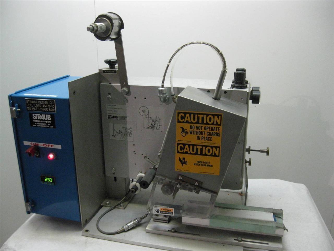 Automatic Tape Applicator ~ Straub wl automatic tape dispenser applicator machine