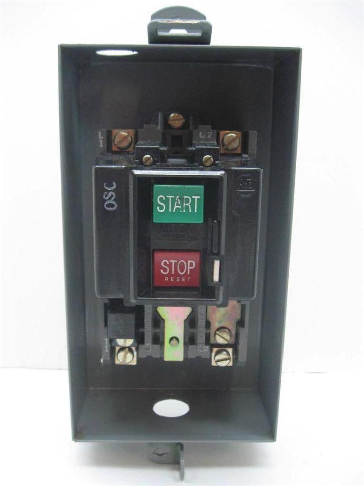 Allen Bradley 609 Aox Manual Starter Size 0 Ebay