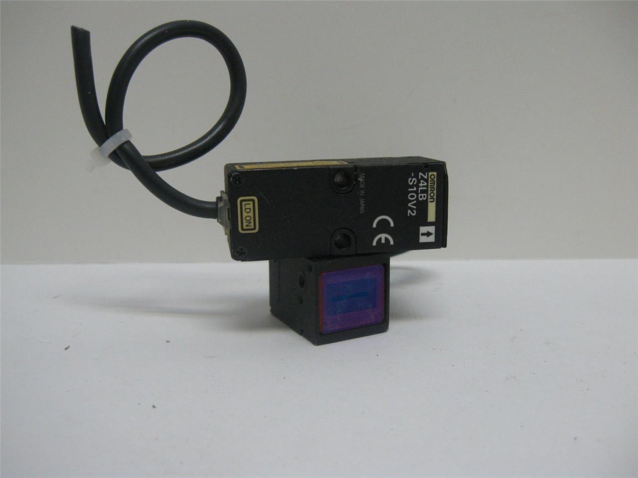 Omron Z4lb S10v2 Parallel Beam Linear Sensor Ebay