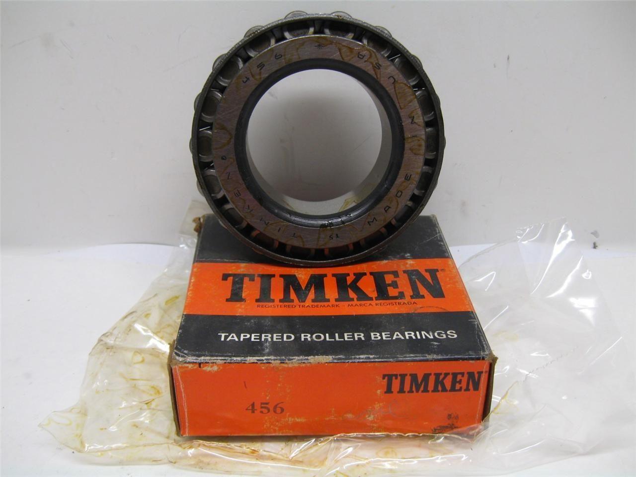 Timken 400 Series 456 Tapered Roller Bearing New