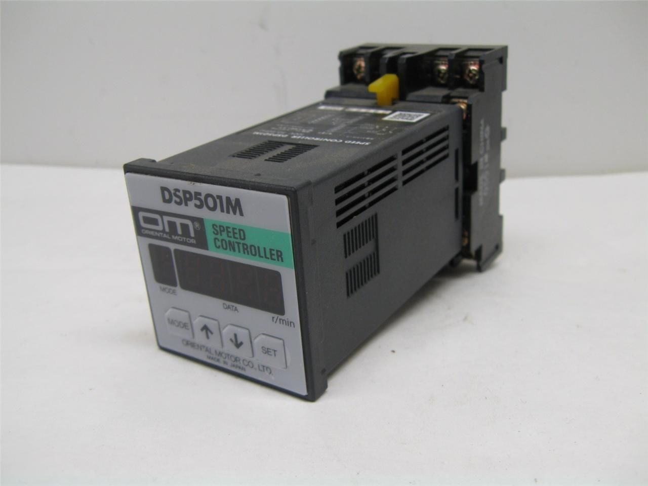 Oriental Dsp501m Digital Motor Speed Controller With Base