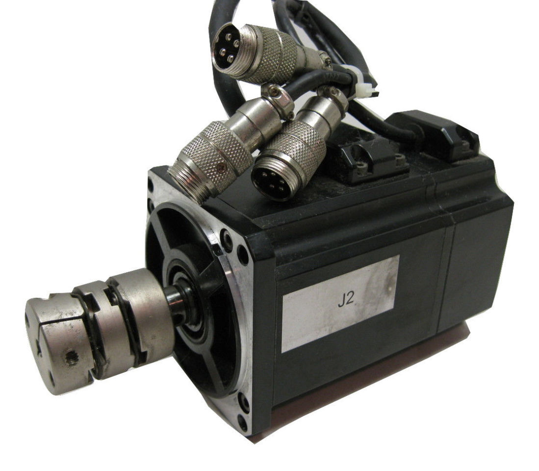 Sanyo denki q2aa07040dxp00m sanmotion ac servo motor 400w for Ac servo motor controller