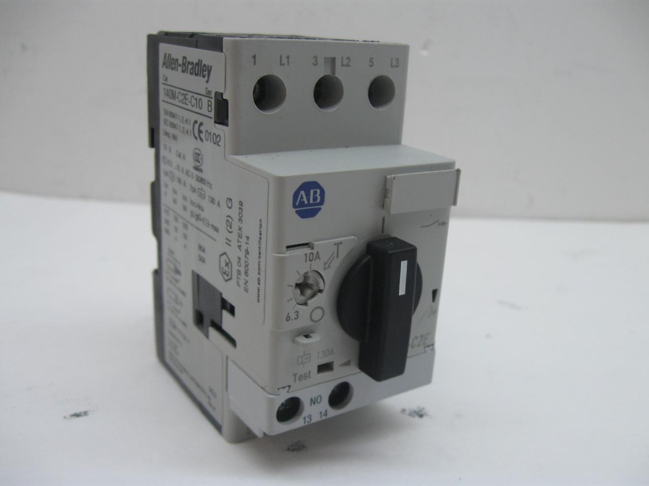 Allen Bradley 140m C2e B16 Series B Manual Motor Starter 1