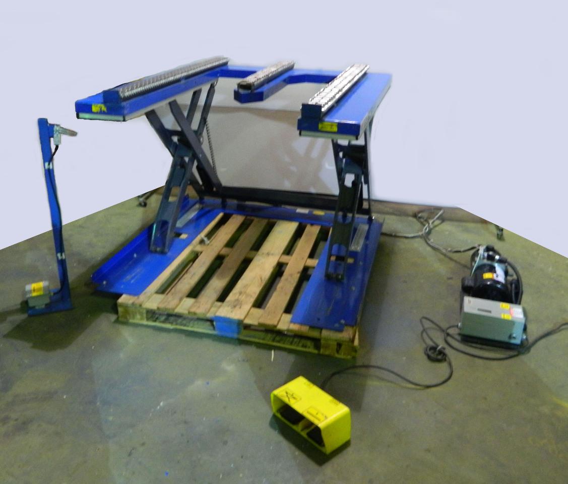 Hydraulic Pallet Lifters : Southworth roll e hydraulic pallet lift vac single