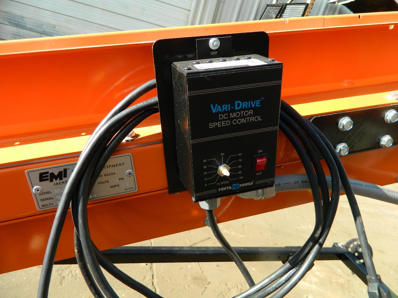 Emi Plastics Stlk Incline Belt Conveyor 18 L X 11 5 W