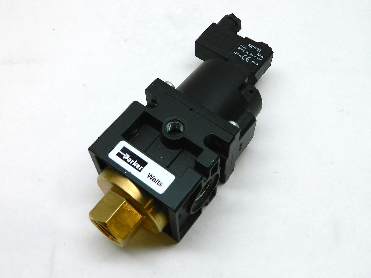 Parker sc series air soft start valve quot dump
