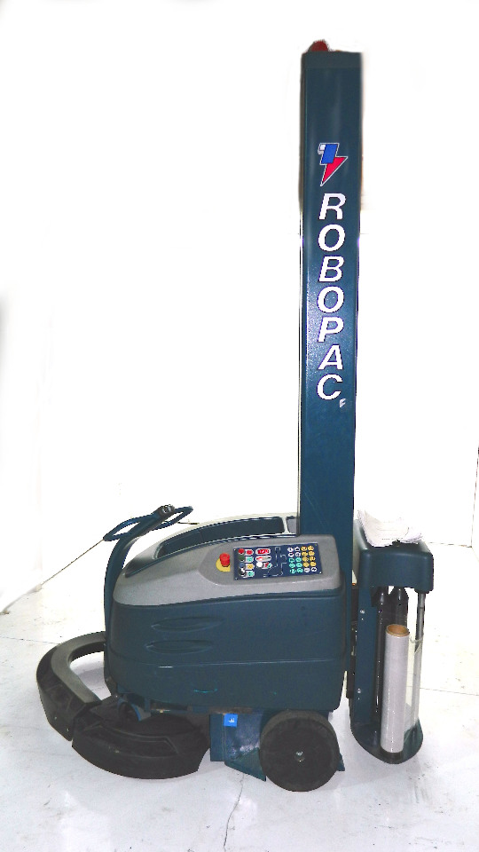 used pallet stretch wrap machine