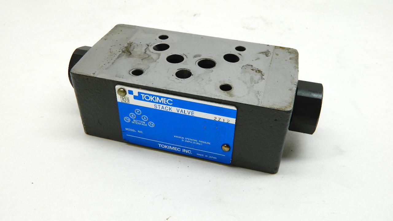 Tokimec Vickers TGMPC-5-ABM-BAM-50 Stack Valve 31.5 Mpa