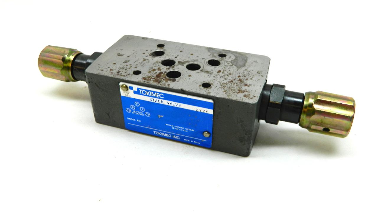 Tokimec Vickers TGMFN-5-Y-A2H-B2H-50 Stack Valve 48261684