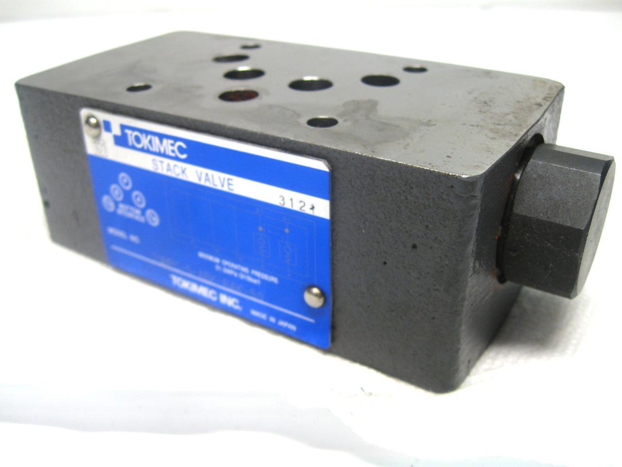Tokimec Vickers TGMPC-5-ABK-BAK-50 Stack Valve 31.5 Mpa