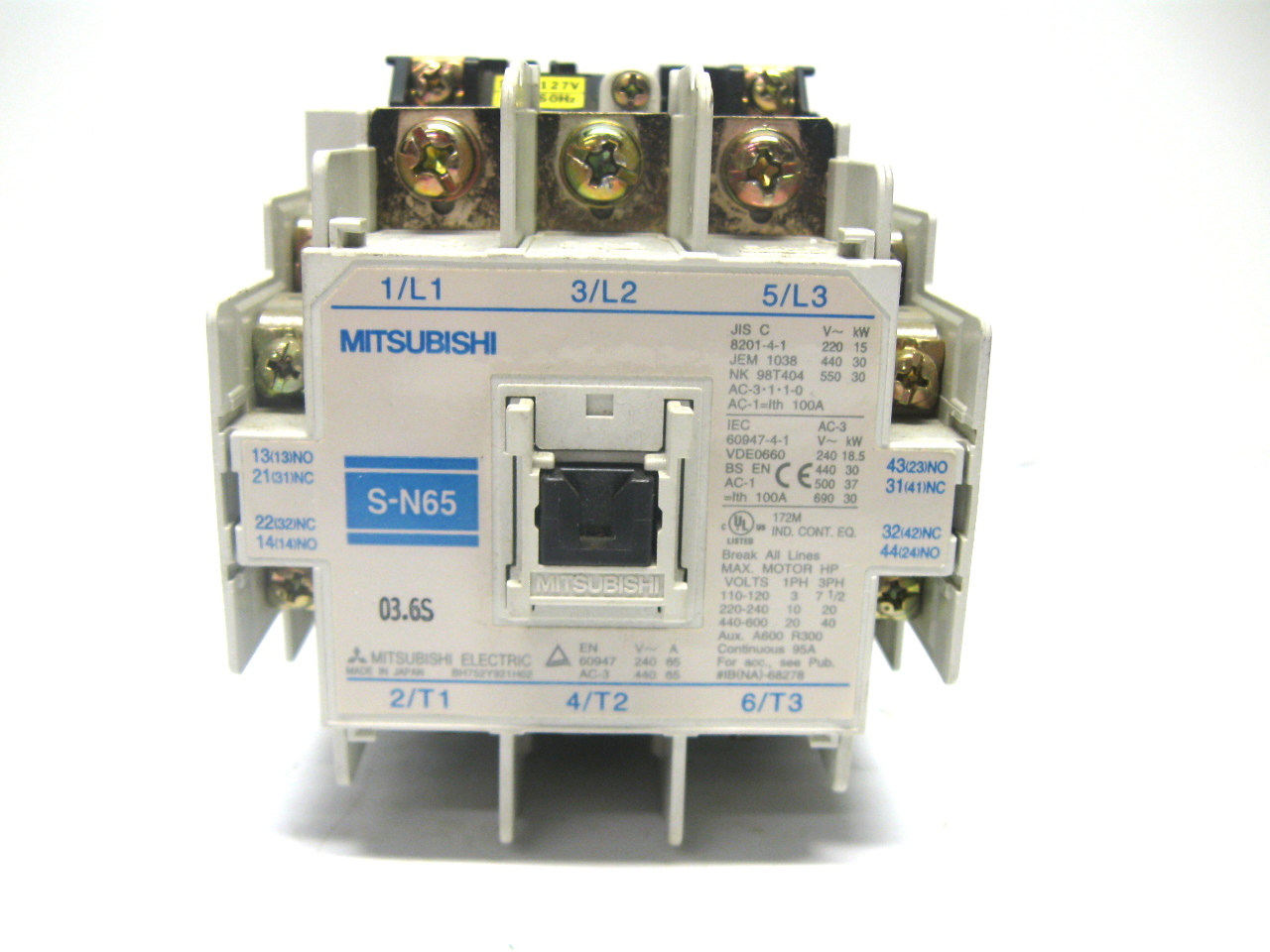 what is magnetic contactor pdf