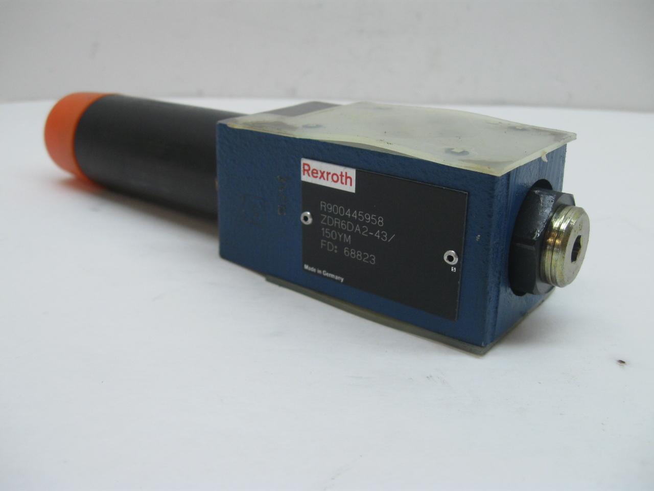 Rexroth ZDR6DA2-43/150YM Pressure Reducing Hydraulic Valve New