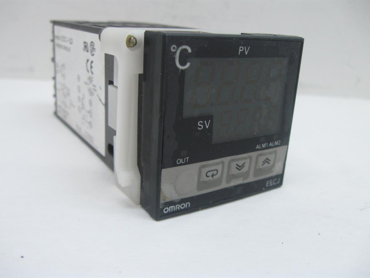 omron e5cn temperature controller manual