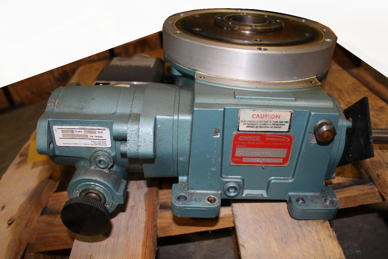 Camco 601rdm4h24 330 Indexer 4 Station Laipple Keb M63p4
