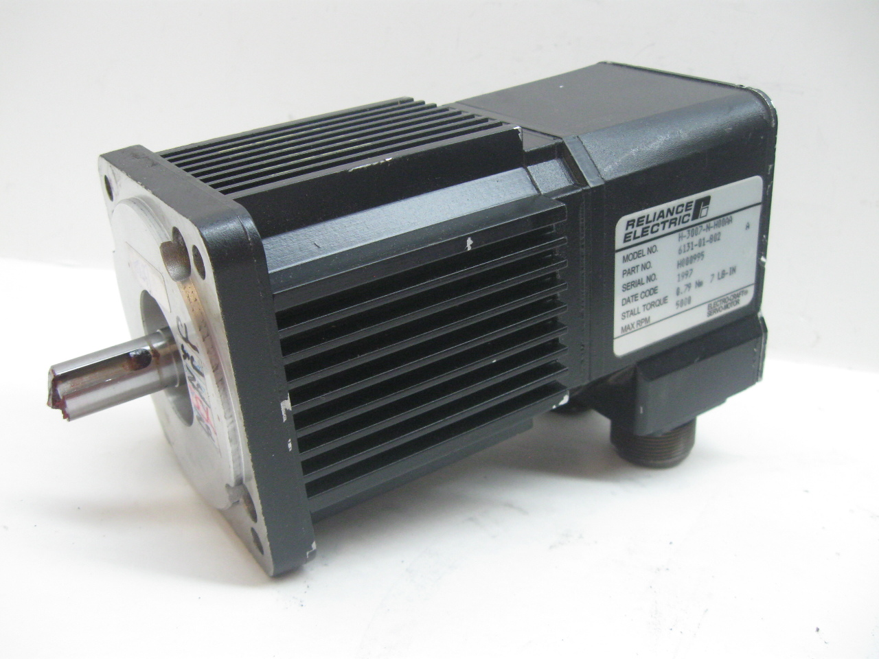 Reliance Electric H 3007 N H00aa Brushless Servo Motor