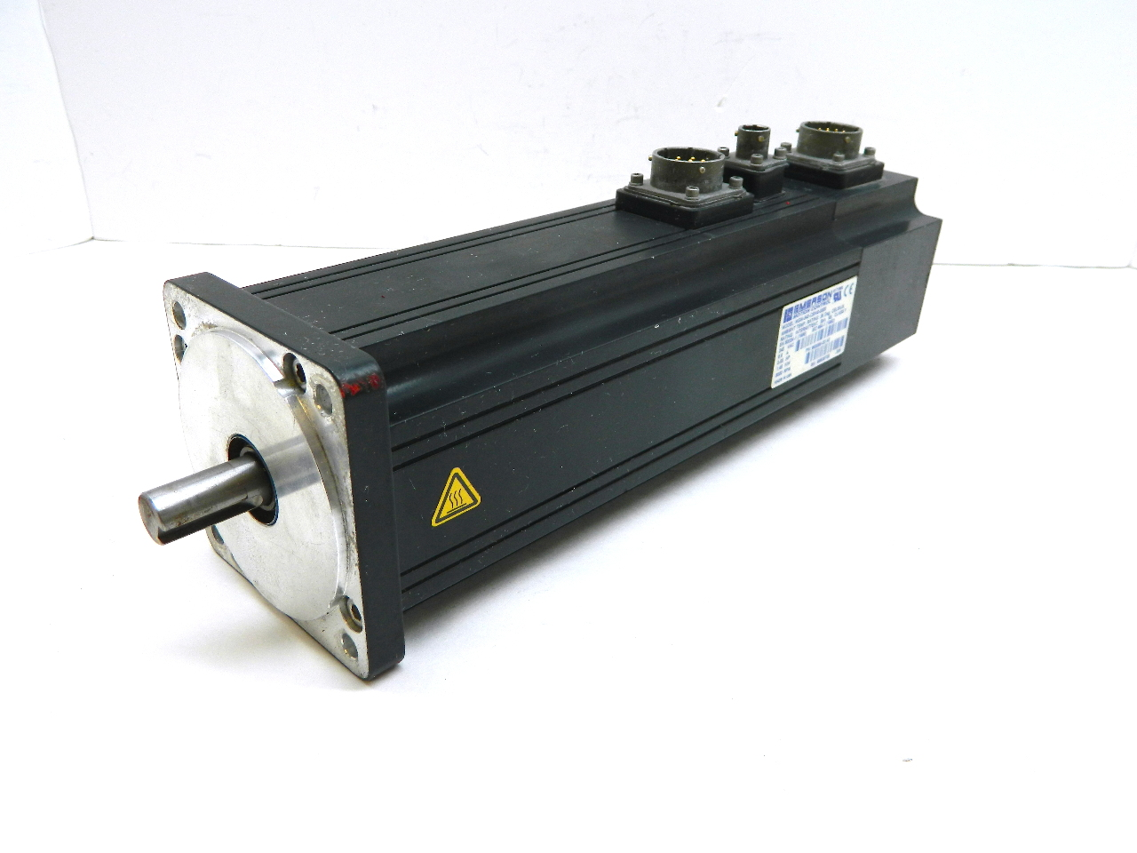 Emerson Mgm 340 Cbns 0000 Ac Servo Motor 240v 3000 Rpm 2hp